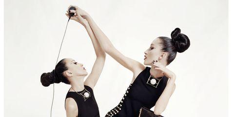 Shoulder, Elbow, Style, Waist, Wrist, Knee, Dancer, One-piece garment, Ankle, Fashion design,