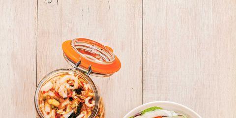 Food, Cuisine, Recipe, Dish, Salad, Vegetable, Produce, Fruit, Peach, Leaf vegetable,