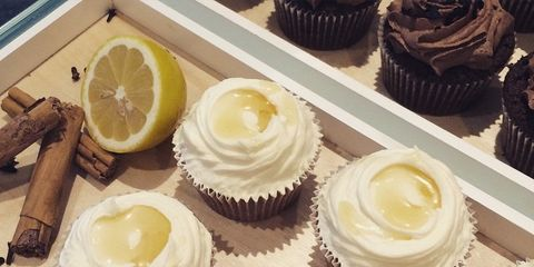 Food, Sweetness, Cupcake, Dessert, Cake, Ingredient, Baked goods, Cuisine, Dairy, Baking cup,