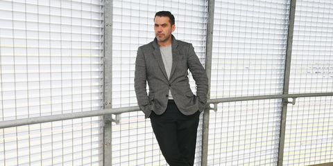 Clothing, Dress shirt, Product, Collar, Sleeve, Shirt, Outerwear, Style, Suit trousers, Formal wear,