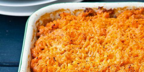 Food, Ingredient, Dish, Recipe, Comfort food, Serveware, Panko, Casserole, Crumble, Take-out food,