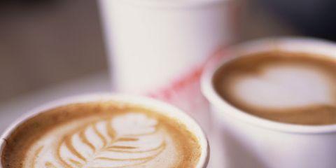 Cup, Serveware, Drinkware, Espresso, Drink, Flat white, Café, Single-origin coffee, Coffee cup, Coffee,