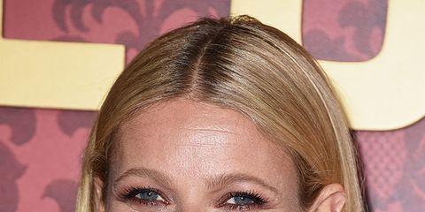 Hair, Ear, Earrings, Hairstyle, Forehead, Eyebrow, Eyelash, Style, Fashion accessory, Beauty,