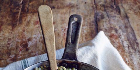 Food, Ingredient, Produce, Kitchen utensil, Tableware, Cutlery, Spoon, Serveware, Meal, Recipe,