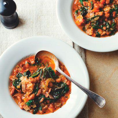 Dish, Food, Cuisine, Ingredient, Minestrone, Ribollita, Fasolada, Soup beans, Produce, Soup,