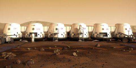 Landscape, Soil, Beige, Commercial vehicle, RV, Travel trailer, Sand, Truck,