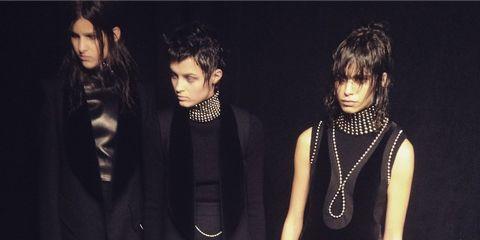 Outerwear, Dress, Style, Fashion accessory, Fashion model, Fashion, Black hair, Black, Jewellery, Little black dress,