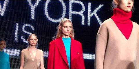 Coat, Outerwear, Style, Dress, Fashion, Blazer, Fashion model, Public event, Fashion design, Blond,