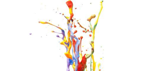 Colorfulness, Orange, Liquid, Art, Paint, Artwork, Art paint, Illustration, Graphics, Visual arts,