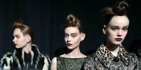 Head, Ear, Hairstyle, Style, Fashion model, Eyelash, Fashion, Youth, Model, Fashion design,