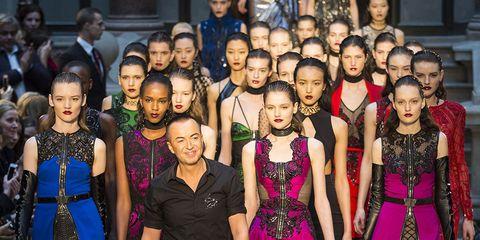 Footwear, Dress, Style, Waist, Fashion, Fashion model, Fashion show, Public event, Runway, Fashion design,