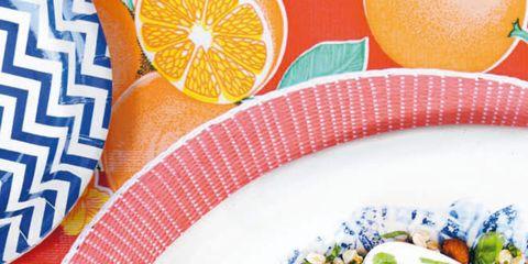 Food, Cuisine, Dishware, Plate, Recipe, Salad, Dish, Garnish, Serveware, Ingredient,
