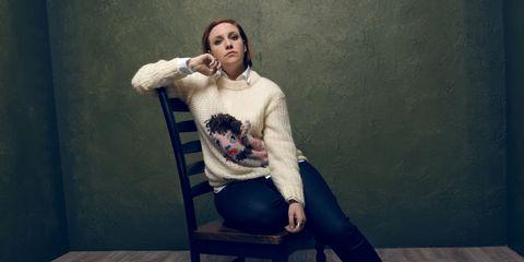 Sitting, Knee, Hardwood, Wood flooring, Laminate flooring, Sweater, Portrait,