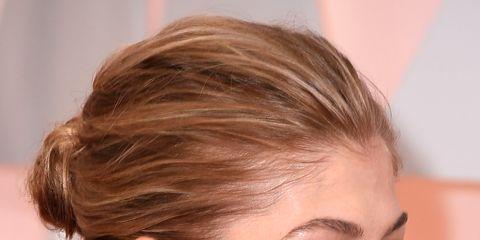 Hair, Head, Ear, Earrings, Lip, Hairstyle, Skin, Chin, Forehead, Event,