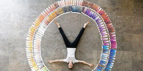 Acrobatics, Circle, Active pants, Balance, Physical fitness, Exercise, Flip (acrobatic), Tail,