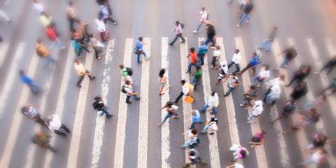 Street, Pedestrian, Walking, Endurance sports, Race track, Traffic,