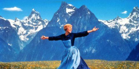 Mountainous landforms, Mountain range, Happy, Rejoicing, Flower, People in nature, Mountain, Summit, Arête, Ridge,