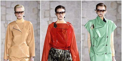 Sleeve, Textile, Style, Bag, Fashion, Street fashion, Fashion model, Luggage and bags, Waist, Fashion design,