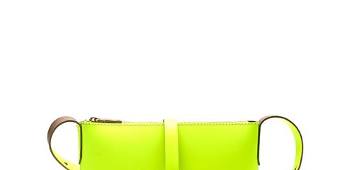 Product, Yellow, Textile, Bag, Shoulder bag, Luggage and bags, Beige, Leather, Rectangle, Strap,