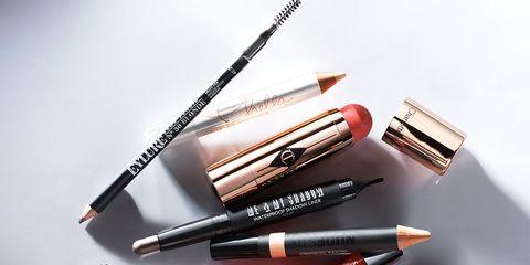 Brown, Red, Stationery, Orange, Lipstick, Pink, Amber, Cosmetics, Purple, Beauty,