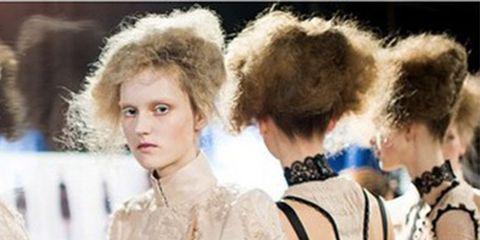 Hairstyle, Textile, Style, Dress, Headgear, Fashion, Street fashion, Fur, Natural material, Fashion design,