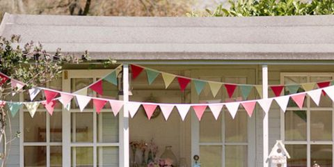 Furniture, Outdoor furniture, Flowerpot, Outdoor table, Shade, Houseplant, Yard, Backyard, Patio, Awning,