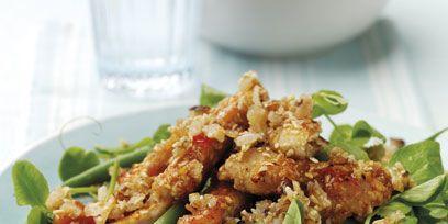 Food, Dishware, Ingredient, Serveware, Recipe, Plate, Dish, Fried food, Cuisine, Vegetable,