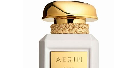 Yellow, Amber, Font, Bottle, Rectangle, Beige, Peach, Metal, Label, Perfume,
