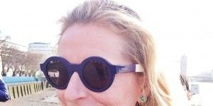 Clothing, Eyewear, Glasses, Vision care, Earrings, Hairstyle, Chin, Sunglasses, Goggles, Outerwear,