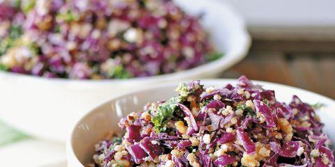 Food, Serveware, Magenta, Purple, Cuisine, Pink, Violet, Recipe, Salad, Lavender,