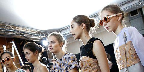 Eyewear, Face, Human body, Fashion accessory, Style, Bag, Street fashion, Sunglasses, Fashion, Luggage and bags,