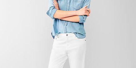 Footwear, Product, Dress shirt, Collar, Sleeve, Shoulder, Shirt, Textile, Joint, White,