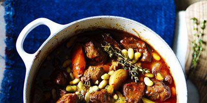 Food, Ingredient, Stew, Recipe, Serveware, Produce, Dish, Bean, Soup, Bowl,
