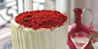 Serveware, Dishware, Cuisine, Food, Cake, Ingredient, Dessert, Red, Sweetness, Tableware,