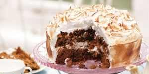 Dish, Food, Cuisine, Dessert, Ingredient, Cake, Baked alaska, Baked goods, Torte, Recipe,