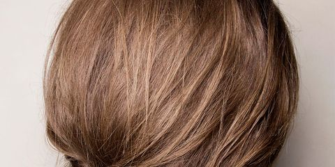 Brown, Hairstyle, Style, Brown hair, Neck, Blond, Hair coloring, Long hair, Liver, Back,