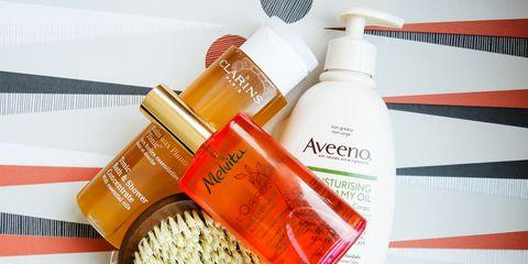 Liquid, Fluid, Product, Bottle, Orange, Peach, Cosmetics, Plastic bottle, Packaging and labeling, Solution,