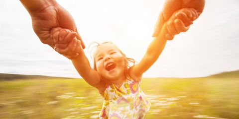 Finger, Fun, Happy, People in nature, Rejoicing, Summer, Baby & toddler clothing, Gesture, Sunlight, Thumb,
