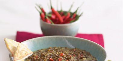 Ingredient, Food, Serveware, Cuisine, Kitchen utensil, Dishware, Dish, Mixture, Spoon, Bowl,
