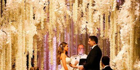 Clothing, Coat, Event, Dress, Trousers, Bridal clothing, Suit, Photograph, Wedding dress, Happy,