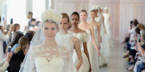 Head, Bridal clothing, Shoulder, Photograph, Gown, Happy, Wedding dress, Dress, Formal wear, Bride,