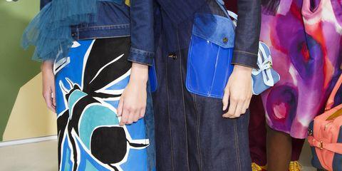 Clothing, Blue, Textile, Style, Pattern, Electric blue, Fashion, Cobalt blue, Aqua, Street fashion,