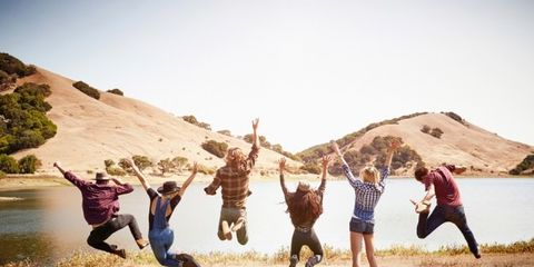 Fun, Landscape, Happy, People in nature, Rejoicing, Leisure, Tourism, Interaction, Friendship, Vacation,