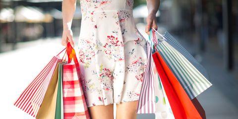 Textile, Red, Pattern, Orange, Street fashion, Dress, Fashion, Bag, Day dress, Waist,