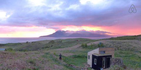 Cloud, Plant community, Highland, Land lot, Grassland, Sunset, Dusk, Sunrise, Horizon, Hill,