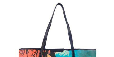Bag, Style, Shoulder bag, Luggage and bags, Teal, Turquoise, Aqua, Tote bag, Shopping bag, Visual arts,