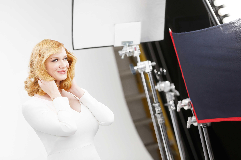 Christina Hendricks Goes Blonde For Life After Mad Men