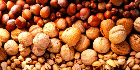 Dried fruit, Rock, Nut, Nuts & seeds, Ingredient, Pebble, Peach, Almond, Seed, Mixed nuts,
