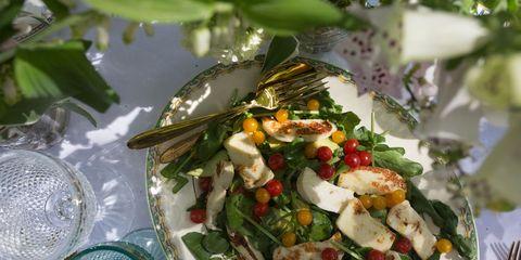 Food, Dishware, Cuisine, Salad, Tableware, Dish, Recipe, Kitchen utensil, Plate, Serveware,