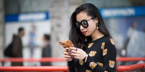 Eyewear, Vision care, Glasses, Street fashion, Bracelet, Goggles, Glove, Dessert, Belt, Portrait photography,